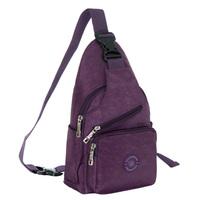 Bags single shoulder bag trigonometric chest pack student school bag cross-body sports casual outdoor ride