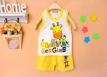 Baby Kids Clothes Set Girls Boys T shirt Pants Undershirt Shorts Kids Pajama Set Children T