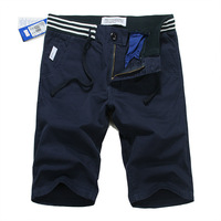 Hot Sale Summer 2014 New Mens Shorts Men's Casual Beach Shorts Surf Short Pants Cotton Blue Free Shipping