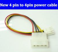 FreeShipping 4 pin to 4pin power cord. 100pcs Big 4 pin to floppy drive, IDE power to floppy drive power cable