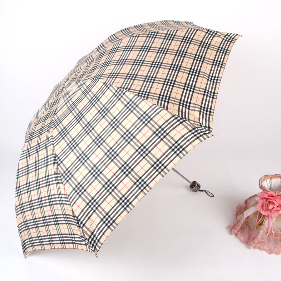 Home Garden Rain Gear Umbrella men three folding umbrella 4 colors wholesales parasol new 2014 free shipping(China (Mainland))