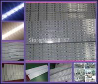 600Pcs/lot DC12V rigid led strip 5630 smd 72leds/m aluminum pcb import led warm white/cool white U51