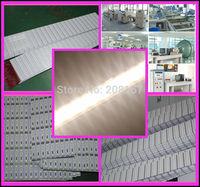 100Pcs/lot WarmWhite/Cool White Optional Non-Waterproof Led strip light 100cm 72Leds DC12V SMD 5630 Rigid Aluminum Bar light U51