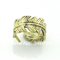Spring 2014 new arrive items Free Shipping Fashion Gift game of thrones bronze plated leaves rings women rings for gift