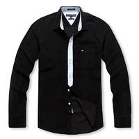 Ultralarge Size men's large clothing plus size fat shirt xxxl flannelet black shirt long-sleeve shirt