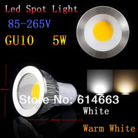 10pcs/lot 5W 7W  9W  85-265V E27 E14 GU10 GU5.3 COB MR16 LED Spot Light Spotlight Bulb Lamp High power lamp