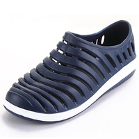 2014 summer breathable mesh shoes men's casual shoes ultra-light breathable shoes barefoot shoes Beach shoes