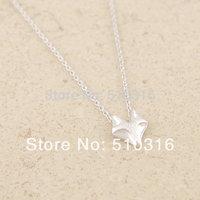 2015 Fashion Fox Necklace 18K Gold/Silver Tiny Pendant Necklace
