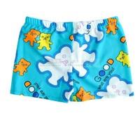 Boxer swimming trunk child swimwear male baby child big boy swimming trunks summer