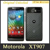 Motorola DROID RAZR M XT907 Original Unlocked Mobile Phone 4.3 inch Dual Core Android 8MP WIFI GPS 8GB ROM Refurbished Phone