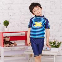 Child swimwear male child swimwear boy children swimming trunks baby young children swimwear 017