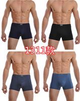 Free Shipping 5pcs/lot Shorts Men Underwear Boxers Healthy Boxer Cuecas Breathable Undies