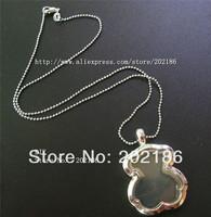1pcs Living Floating Memory Bear Locket Necklace Free shipping