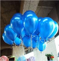 Free Shipping 100pc/Lot 10' Inch1.5g  Dark Blue  New 2014  Baby Shower Decorations Happy Birthday Decoration Balloon