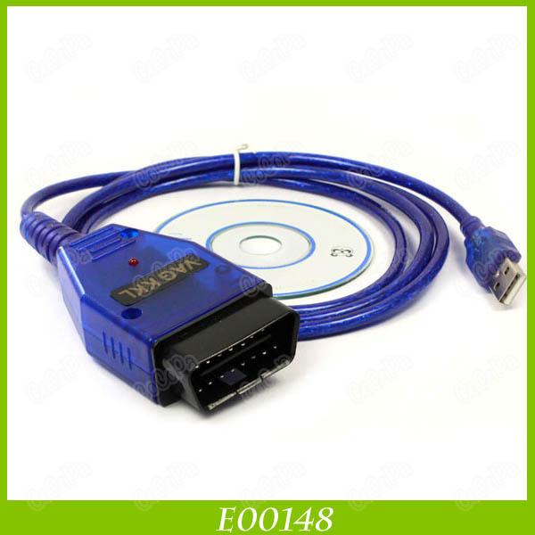 Vag 409 VAG-COM 409.1 Vag Com 409.1 KKL OBD 2 USB VAG409.1 Cable Scanner Scan Tool Interface For Audi VW(China (Mainland))