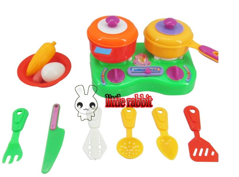 13pcs/set versandkostenfrei Hilfe geschirr set werkzeug babys spielzeug Geräte kochen spiele für mädchen kinder re- ment baby küche