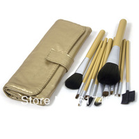 Make- up tools golden animal hair 12 brushes / makeup brush sets / suit wholesale