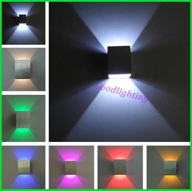 Livraison gratuite jusqu'à et vers le bas lumière mur de led 1x3w mur de led spot encastré au plafond lampe de mur décoration à la maison