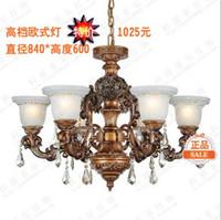 Fashion lamps living room lights fashion crystal pendant light study light american style pendant light 0099