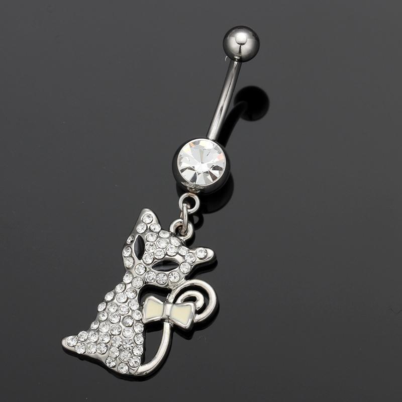 popular fox navel rings from china best selling fox navel
