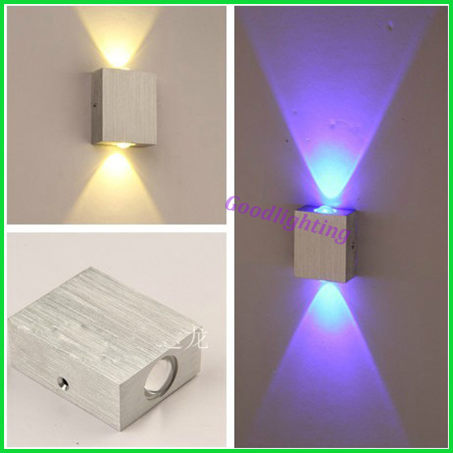 Modern 2W led wall light AC85 265V high quality restroom bathroom bedroom reading wall lamp ...
