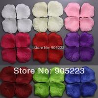 Wholesale/ retail  4000pc    silk rose petals Wedding Decoration  Free Shipping