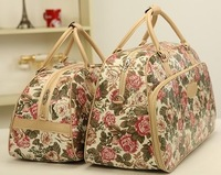 Travel Duffle,Korean new style of women travel bags&men travel bags women handbag large capacity luggage PU bag free shipping