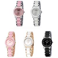 KIMIO Fashion Girls Ladies Female Quartz Bracelet Watch Elegant Design K455L White Black Gold Pink Women Dress Watches 2014