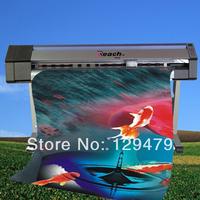 DX5 Print Head ECO Solvent Printer outdoor Inkjet Printer,Double 4-color(C M Y K)