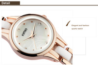 KIMIO 2014 Fashion Girls Ladies Female Quartz Bracelet Watch Elegant Design K450L Women Dress Watches Wristwatches 5 Colors