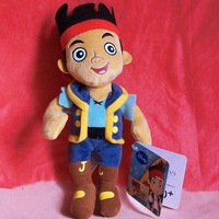 Free shipping Original Jake and the Neverland Pirates Toy Plush Plush Jake Boy 30cm Plush Toys Soft Toys Kids Toys Gift