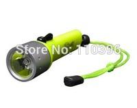 underwater 10-50m use cree xpe waterproof diving flashlight torch,300 lumen,distance <200m