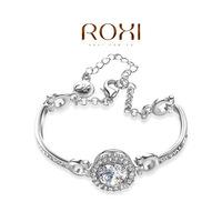Wholesale ROXI Fashion Accessorie Jewelry CZ Diamond Clear Austria Crystal with SWA Element Bracelet for Women