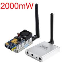Boscam 5 8G FPV 2W 2000Mw Wireless Audio video transmitter AV sender and receiver RC305 5705