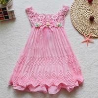 Girls Dress New Arrival 2014 Summer Children Clothing Chiffon Girl's Fashion vestidos Kids Princess Infant Dresses