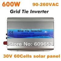 600W Grid Tie Inverter,36V 72Cells panel,MPPT function,Pure Sine wave 220V output,Micro on grid tie inverter