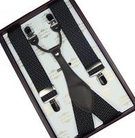Suspenders male suspenders suit suspenders western-style trousers suspenders flip clip no18
