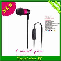 Brand Original JBM MJ-A8 Stereo Headset Earphones Metal mic headphone for IPhone/IPOD/Samsung/HTC,Free Shipping