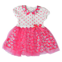 Free Shipping  Girls Daisy Flower Summer Dress Baby Kids Summer Clothes K6445