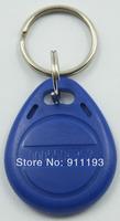 100pcs/lot 125Khz RFID Proximity tag Keyfob token Access Control Rfid key fob Blue yellow red