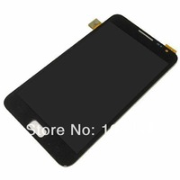 LCD display touch screen digitizer assembly for Samsung Galaxy Note i9220 N7000,Black color free shipping!!