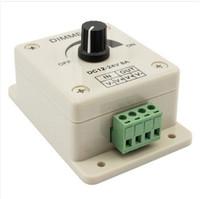 2014 NEW LED Light Lamp Strip Dimmer Brightness Adjustable Control DC 12V / 24V 8A 96W + Free Shipping