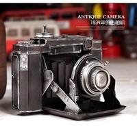 Photography props wedding dress props vintage camera old camera tin camera model