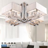 Modern brief ceiling light living room lights lamps bedroom lamp crystal lamp lighting 10024