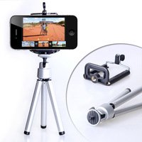 Mini Tripod Aluminum Metal Lightweight Tripod Stand Mount For Digital Camera Webcam Phone DV Tripod