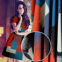 Big Block Patchwork Cashmere Fabric  150CM*100CM    Plaid Size 18CM*40CM / 23CM*21CM
