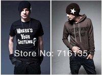 Free shipping(50pcs/lot)Hip-Hop Knitted Long Beanie women men hat winter cap / Acrylic Ski Warm Hat Skull Cap Multi Color