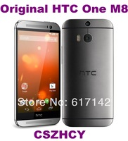 5pcs/lot Original HTC One M8 Unlocked 16GB Internal Android OS 4G smartphone Quad core 4.7'' Refurbished  DHL EMS Free Shipping