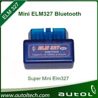 Professional Diagnostic Tool Super Mini ELM327 Bluetooth V 1.5 Car Diagnostic Interface Scanner Works On OBD II