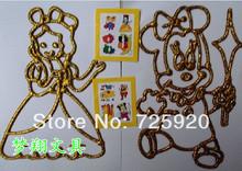Child diy 16k plastic powder painting sand  watercolor painting drawing toys19 x27cm 10pcs/lot free shipping(China (Mainland))
